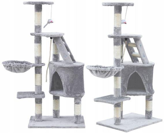 Nowy Drapak dla kota drzewko legowisko Domek 120cm KURIER 0zł DPD