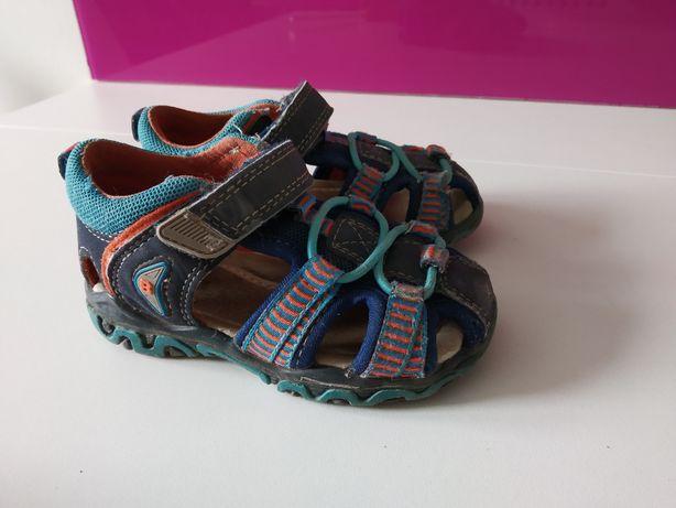 Sandałki kapcie chłopięce dziewczęce Cool Club Smyk 22 granat
