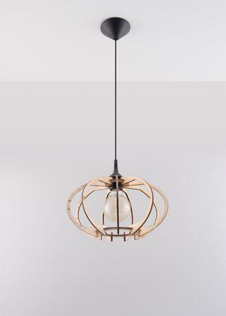 SOLLUX lampa sufitowa MANDELINO 1x60W E27