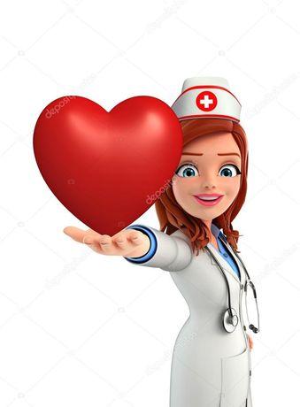 Медсестра,капельницы,уколы на дому