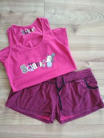 Piżama bawełniana różowa esotiq S/m