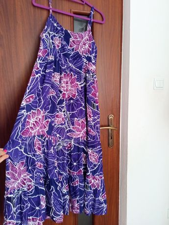 Piękna zwiewna sukienka maxi, 44/46