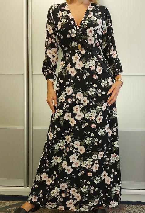 Шифоновое платье макси с цветочным принтом MGN Киев - изображение 1