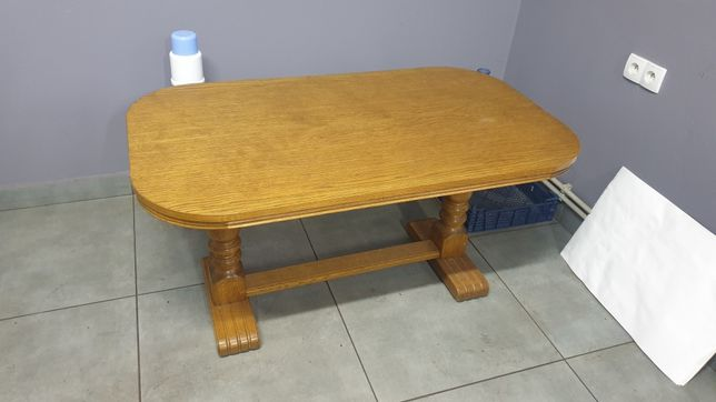 stół dębowy 120x70