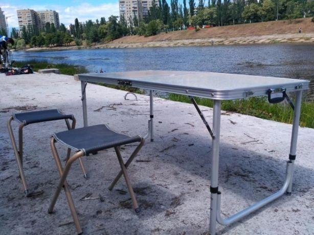 Стол для пикника + 4 стула (комплект) Новый