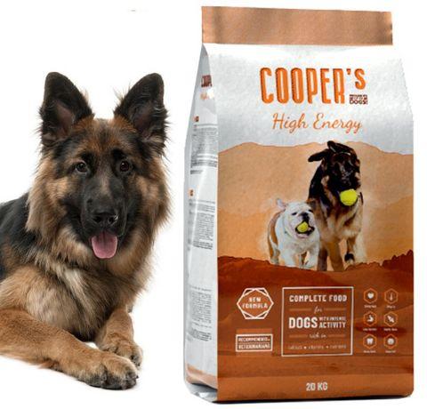 Karma dla psa Cooper's 42% Mięsa dla Owczarka Labradora Goldena 20kg