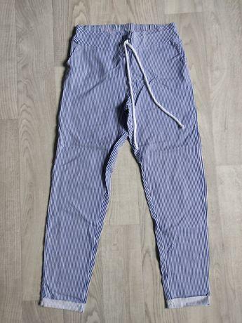 Продам женские хлопковые, полосатые штаны