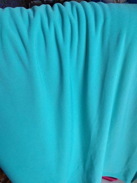 Отрез ткани цвет бирюза