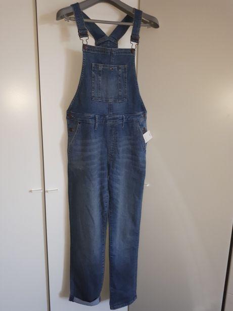 Tommy Hilfiger джинсовый комбинезон унисекс 176р. Оригинал из Германии