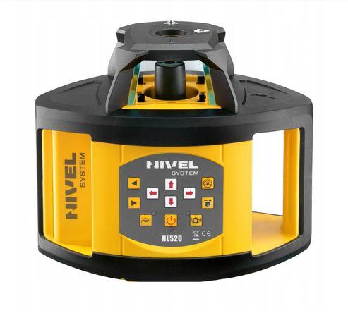niwelator laserowy, laser rotacyjny z odbiornikiem zasięg 500m wynajem