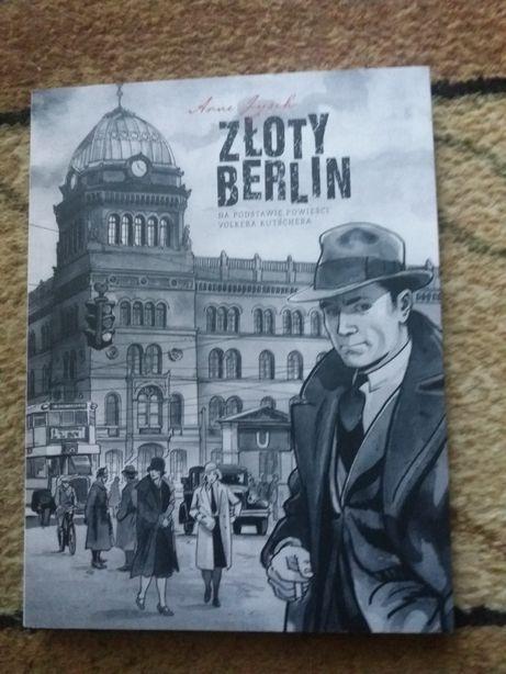 """Zamienię nową książkę komiks """"Złoty Berlin"""" Arne Jysch"""