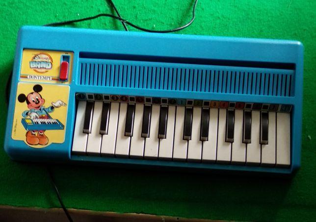 Órgão Bomtempi Disney vintage