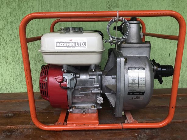 Бензиновая мотопомпа Koshin SERH-50B