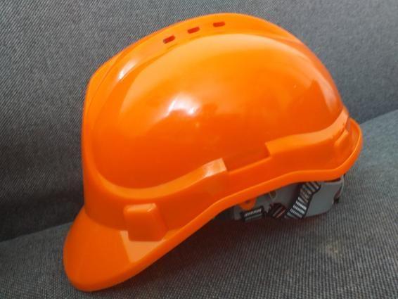 Kask Budowlany Pomarańczowy