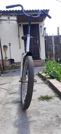 Велосипед с багажником