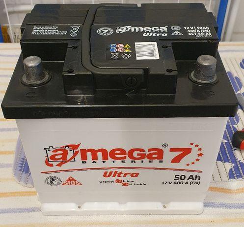 Akumulator AMEGA 7 50Ah 480A P+