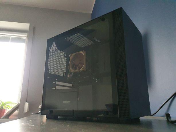 Komputer stacjonarny NZXT zamiana H200 I7 6700 KRAKEN HUE+ GW