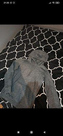Szara bluza cropp