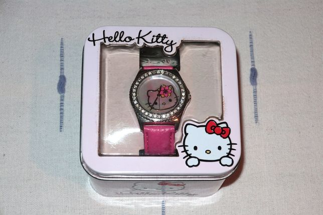 Relógio Novo Hello Kitty para criança
