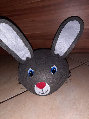 Czapka  królika.Przebranie.