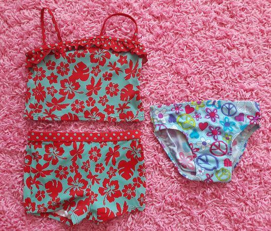 Купальник и плавки на девочку 3-5 лет