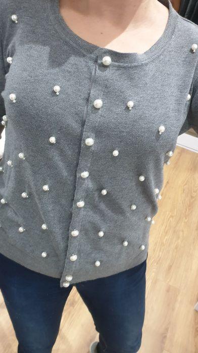 Nowy sweter Taranko perełki kardigan 40 Świebodzin - image 1