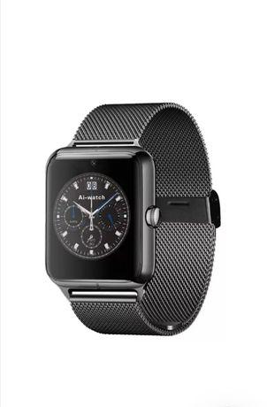 Умные часы Smart Watch X7 black с металлическим ремешком