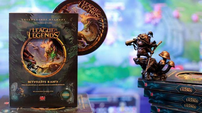 Специальное издание League of Legends на DVD + 8 чемпионов