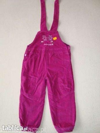 Nowe spodnie ocieplane zimowe 104