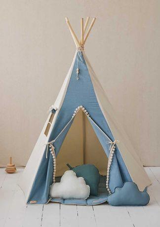 Namiot tipi Jeans Wigwam dla dziecka