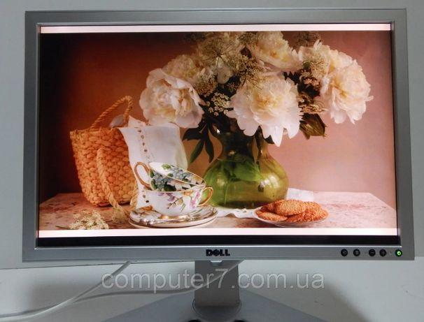 Монитор б/у 22″ Dell 2208WFPt 1680х1050, DVI, VGA, 2.0 USB HUB Опт