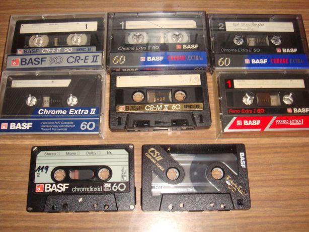 Kasety magnetofonowe BASF zestaw