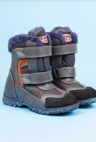 Новые Зимние ботинки на мальчика(18см)