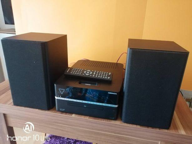 MEDION P64090 Micro DVd-Audio-System +stacja dokująca iphone..