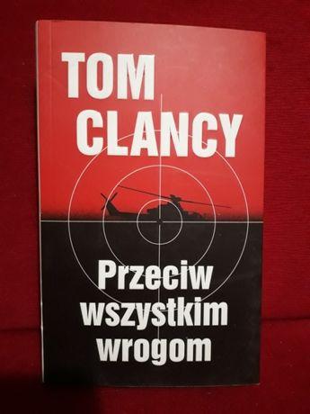 Tom Clancy Przeciw Wszystkim Wrogom prawie nowa książka