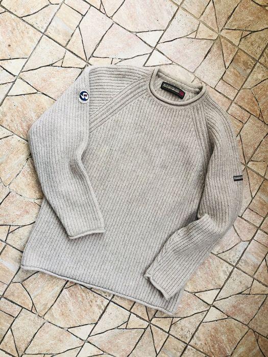 Шерстяной свитер, кофта Napapijri hilfiger lacoste patahonia TNF Львов - изображение 1