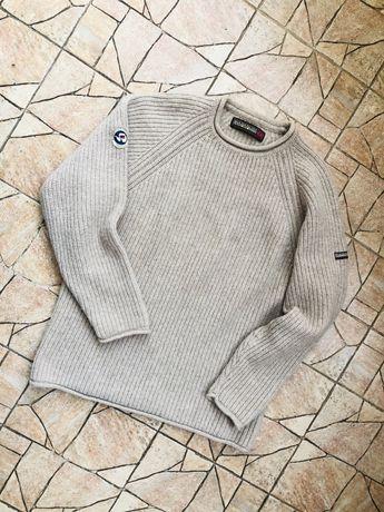 Шерстяной свитер, кофта Napapijri hilfiger lacoste patahonia TNF