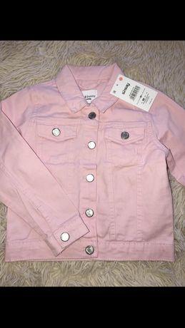 Джинсова курточка для дівчинки 4-5 роки