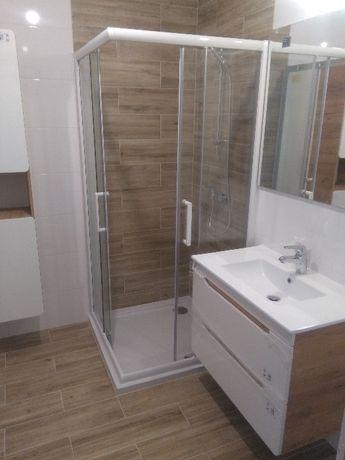 Wykończenia wnętrz, glazurnik panele gładż remont łazienki malowanie