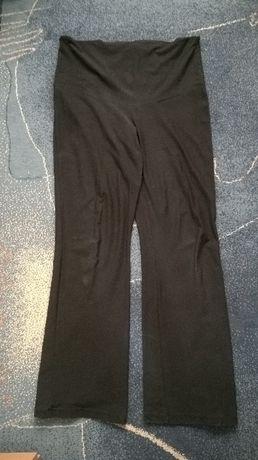 Spodnie ciążowe czarne oraz biustosz do karmienia-nowy.