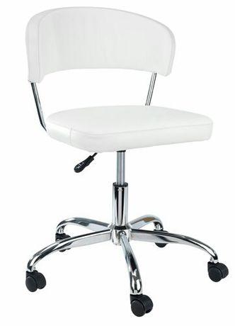 Krzesło krzesełko fotel biurowe dziecięce SNEDSTED białe styl IKEA