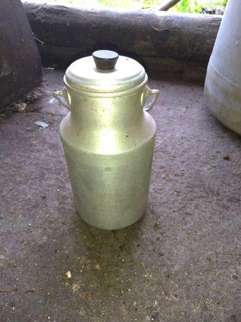 Kanka na mleko mała aluminiowa