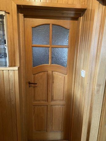 Drzwi debowe + futryna