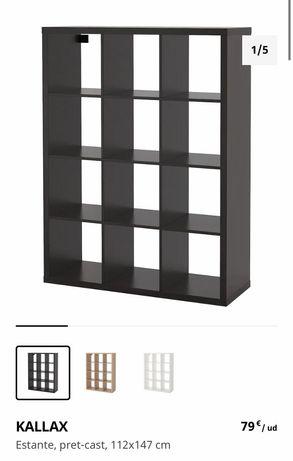 Estante castanha IKEA KALLAX