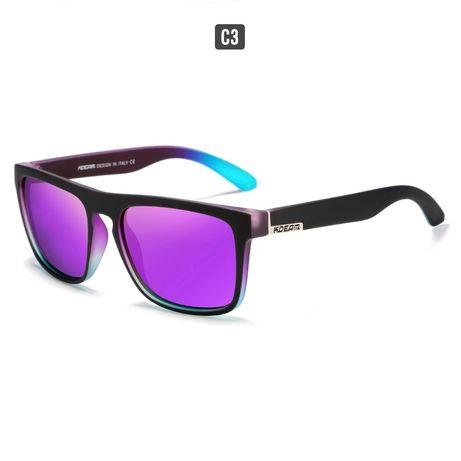 Модные солнцезащитные очки с поляризацией от известного бренда KDEAM