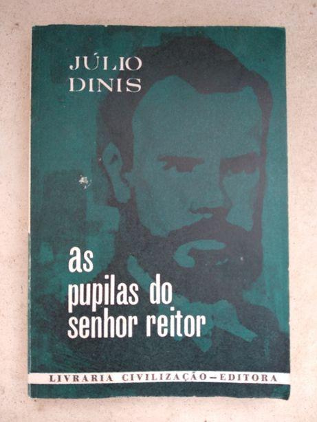 Livro As Pupilas do Senhor Reitor de Julio Dinis