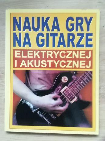 Nauka gry na gitarze elektrycznej i akustycznej