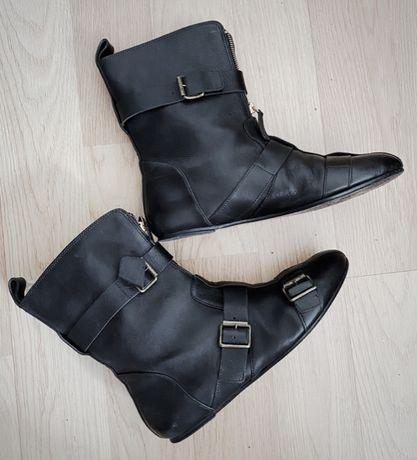 Ботинки Alexander McQueen кожа (полуботинки, сапожки)