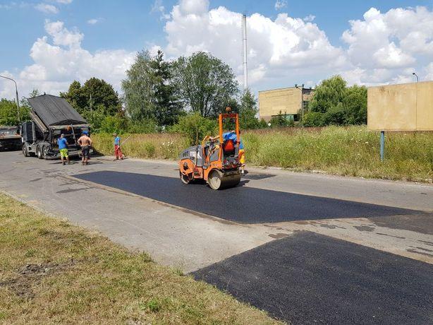 Naprawy nawierzchni asfaltowej,termos,asfaltowanie,asfalt śląsk