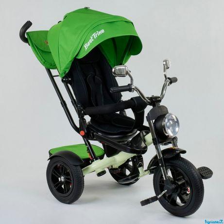 Максимальная скидка. Детский трехколесный велосипед BEST TRIKE- РЕЗИНА
